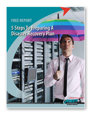 5 steps to preparing a disaster recovery plan