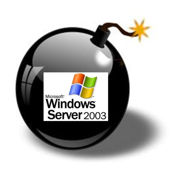 windows server 2003 time is running out