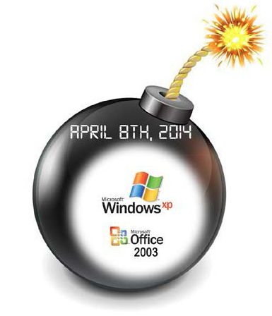 The end of Windows XP