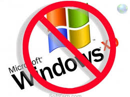 End of support for Windows XP