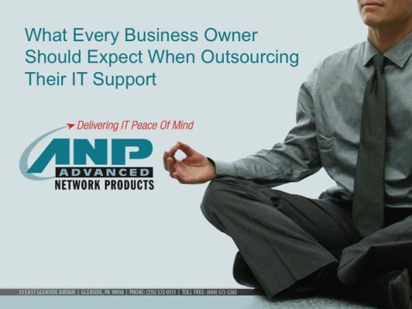 IT Outsourcing Webinar