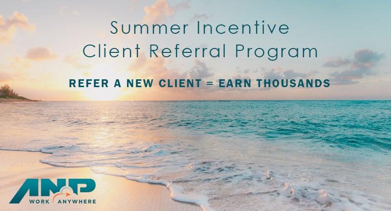 ANP summer referral progran