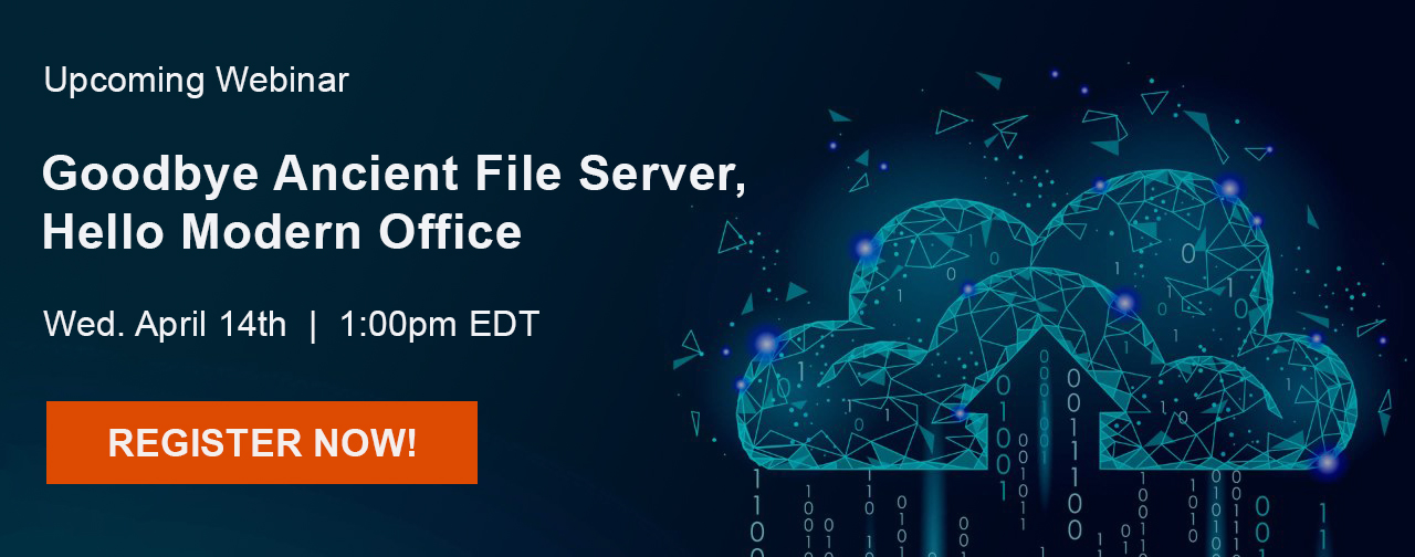 goodbye file server hello Microsoft 365