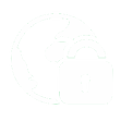 secure web icon white